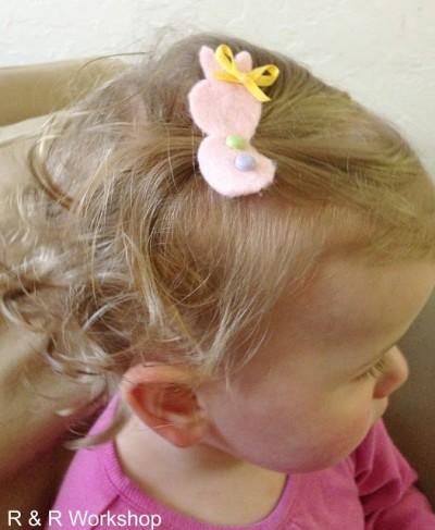 Bunny Hairclip
