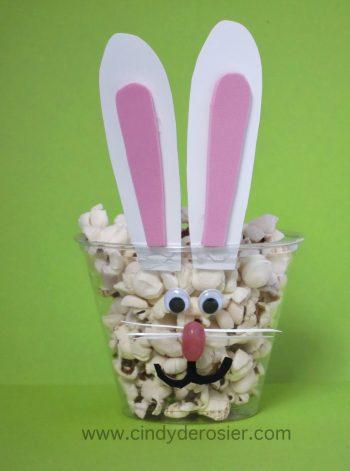 Bunny Popcorn Cup