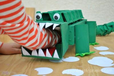 Alligator Affirmations Box