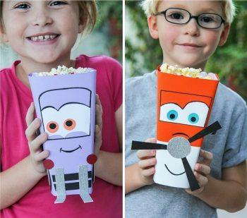 Disney Planes Popcorn Containers