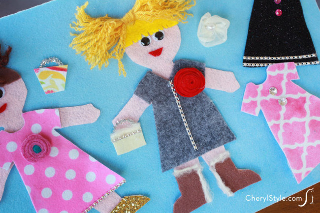 Felt Dress Up Dolls Fun Family Crafts