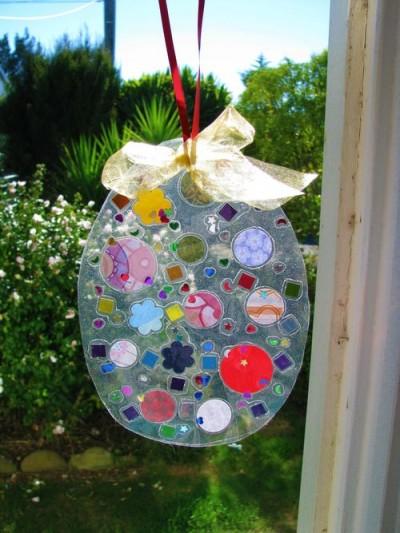 Hanging Easter Art