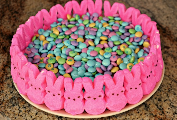 Peeps Easter Candy Cake