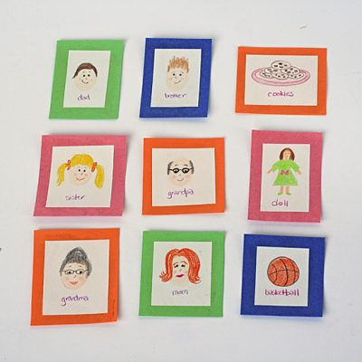 Family Memory Cards