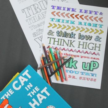 Dr. Suess Free Printable Coloring Pages