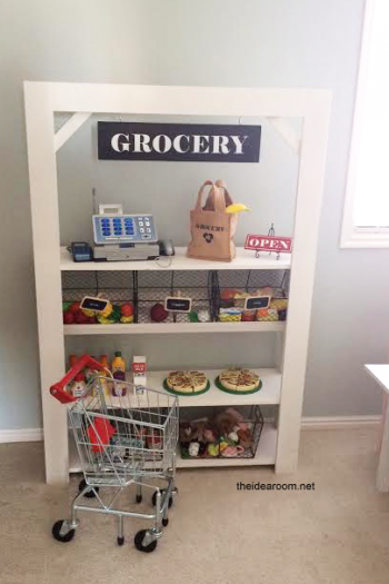 Kid's Grocery Stand