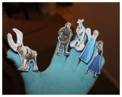 Frozen Glove Puppet Theatre