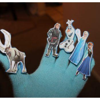 Frozen Glove Puppet Theatre
