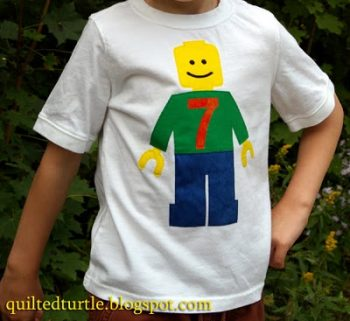 Lego Minifig Birthday Shirt