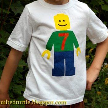 Lego Minifig Birthday Shirt