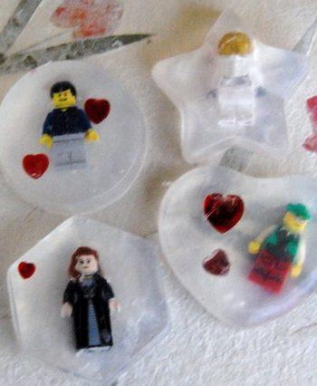 Lego Minifig Soap