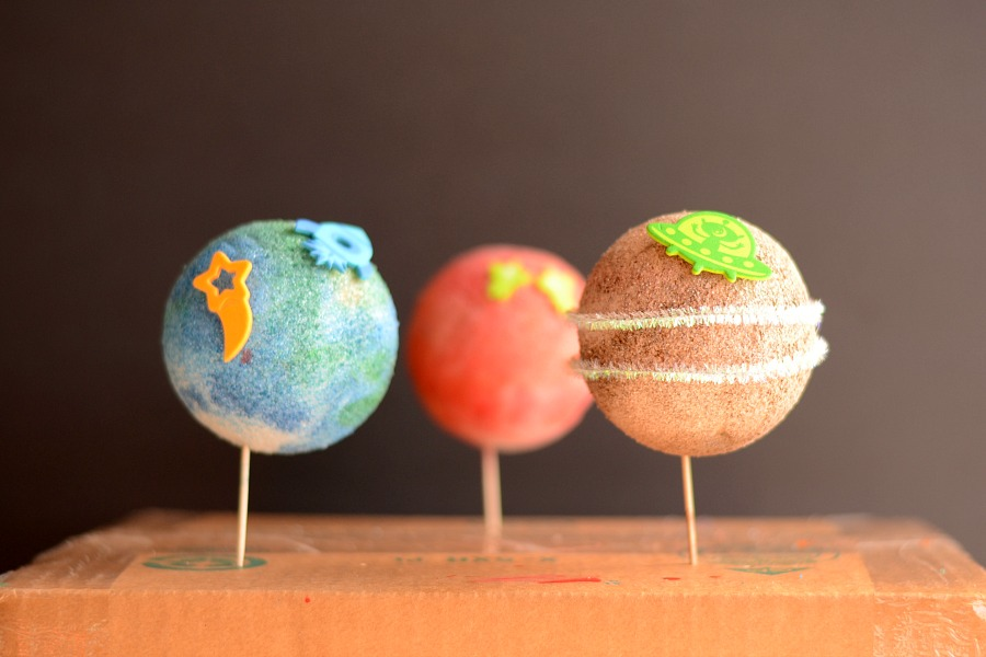Easy Preschool Planet Craft Fun Family Crafts