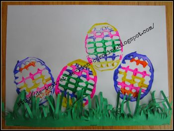 Potato Masher Easter Eggs