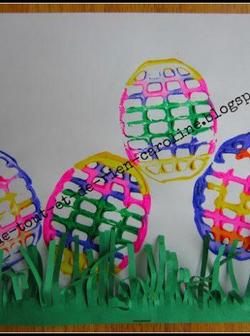 Potato Masher Easter Eggs