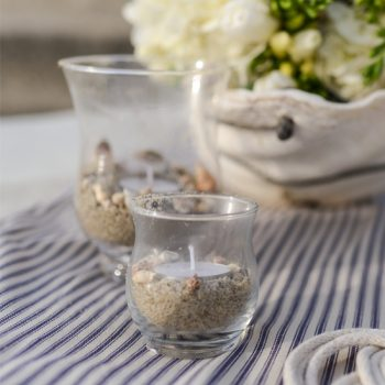 Beachy Candle Votive Holders