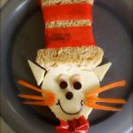 Cat in the Hat Sandwich
