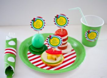 A Trio of Dr. Seuss Snacks