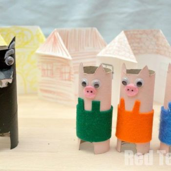 Three Little Pigs Playset