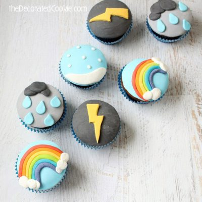 Weather Cupcakes