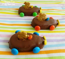 Easter Bunny Reese's Eggs Cars