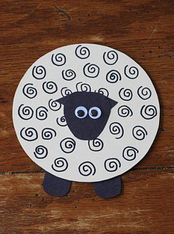 Recycled CD Spring Lamb