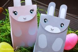 Printable Bunny Bags