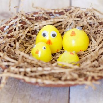 Plastic Easter Egg Chicks