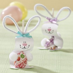 Paper Bunny Pops