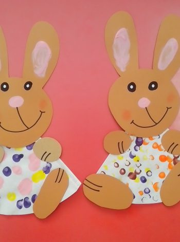 Coffee Filter Easter Bunnies