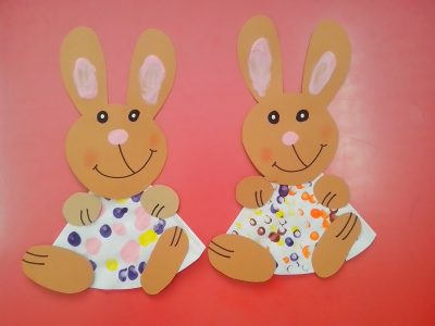 Coffee Filter Easter Bunnies Fun Family Crafts