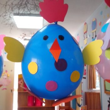 Easter Balloon Chicks
