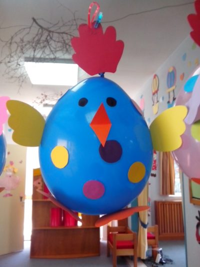 Easter Balloon Chicks Fun Family Crafts