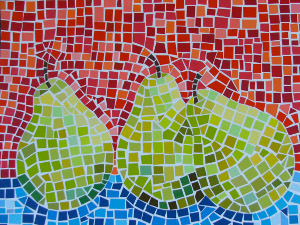Paint Chip Mosaic