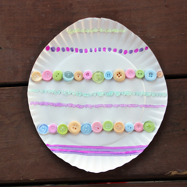 Paper Plate Easter Egg Fun Family Crafts