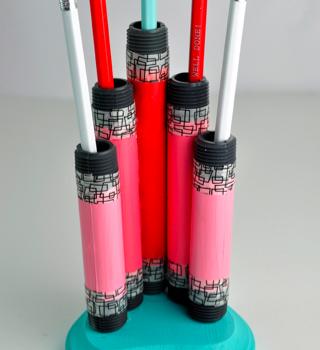 PVC Pencil Holder