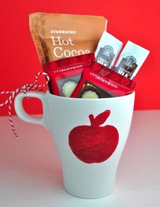 Teacher Appreciation Apple Mug