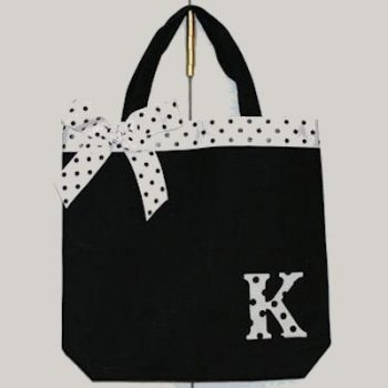 No-Sew Monogrammed Tote
