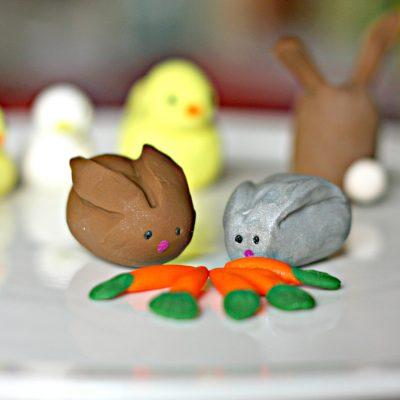 play dough animals instructions
