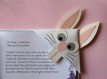 Bunny Bookmark