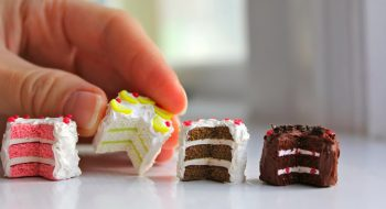 Miniature Clay Lemon Cake
