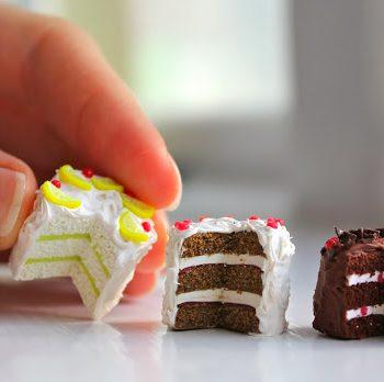 Miniature Clay Lemon Cake