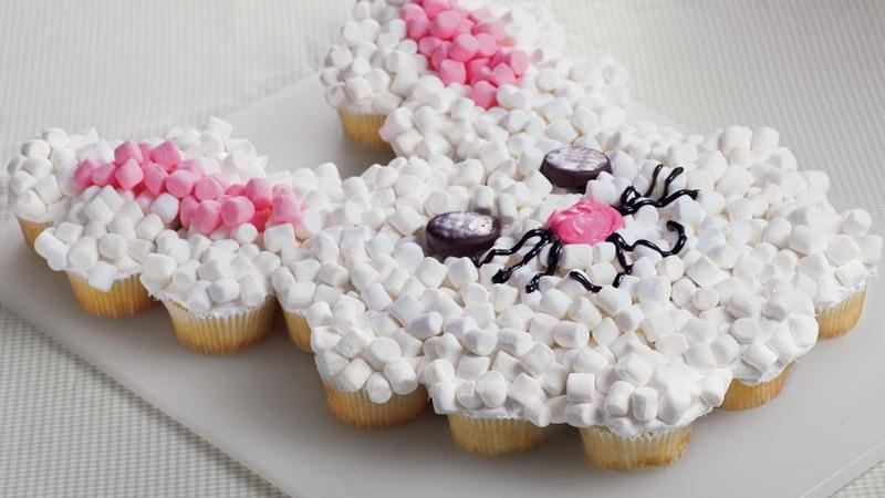 Snowman Cupcake Cake Pattern