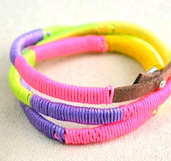 Multi-colored Friendship Bracelet