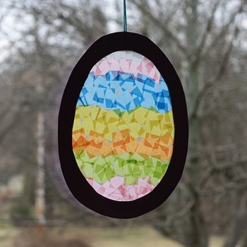 Easter Egg Sun Catcher