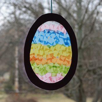 Easter Egg Sun Catcher