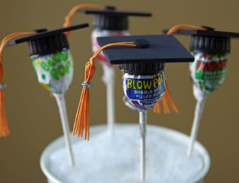 Lollipop Graduation Favors