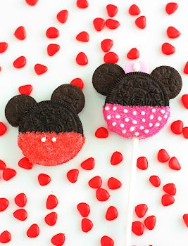 Minnie & Mickey Oreo Cookie Pops
