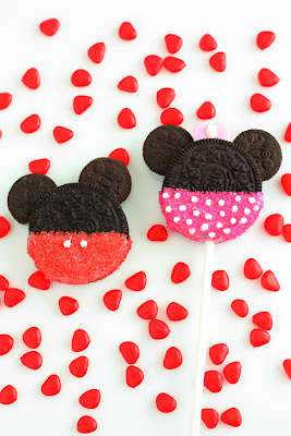 Minnie & Mickey Oreo Cookie Pops