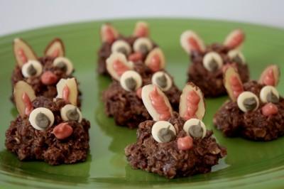 No-Bake Bunny Cookies