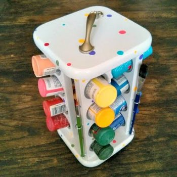Spice Rack Paint Caddy